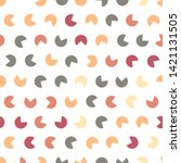 repeating seamless colorful... | Shutterstock .eps vector #1421131505