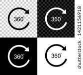 angle 360 degrees icon isolated ...   Shutterstock .eps vector #1421156918