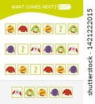 what comes next educational...   Shutterstock .eps vector #1421222015