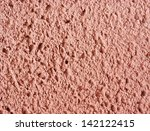 pinkish rough wall texture or... | Shutterstock . vector #142122415