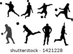 another tabloid of soccer... | Shutterstock .eps vector #1421228