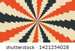 abstract dynamic background... | Shutterstock .eps vector #1421254028
