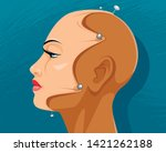 vector illustration of the... | Shutterstock .eps vector #1421262188