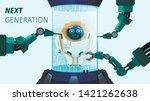 next generation improvement ... | Shutterstock .eps vector #1421262638