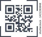 scanning black qarcode on phone ...
