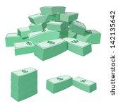 money vector | Shutterstock .eps vector #142135642