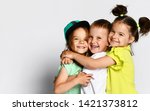 Studio Portrait Of Children On...