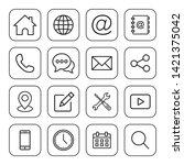 web icon set. set of web icon...