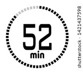 the 52 minutes countdown timer...