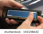unpacking ram | Shutterstock . vector #142148632