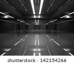 abstract dark modern interior...   Shutterstock . vector #142154266
