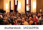 venice   september 8  people... | Shutterstock . vector #142163956