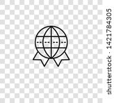 worldwide icon from  collection ... | Shutterstock .eps vector #1421784305