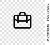 suitcase icon from... | Shutterstock .eps vector #1421784392