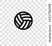volleyball icon from... | Shutterstock .eps vector #1421784398
