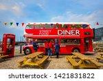 liverpool  uk   may 17 2018 ... | Shutterstock . vector #1421831822