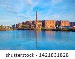 liverpool  uk   may 17 2018 ... | Shutterstock . vector #1421831828