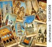 Vintage Collage   European...