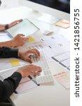 ui ux designer team planning...