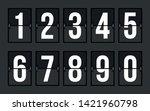 arrival departure board numbers ...
