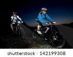 Mountainbiking In The Evening ...