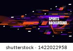 abstract colorful art for... | Shutterstock .eps vector #1422022958