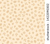 Seamless Pattern With Small...
