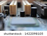 old computer hardware colorful... | Shutterstock . vector #1422098105