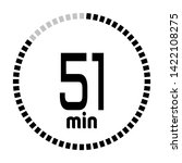 the 51 minutes countdown timer...