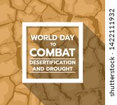 world day to combat... | Shutterstock .eps vector #1422111932