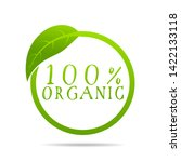 100  organic health design with ...   Shutterstock .eps vector #1422133118