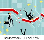 people fall | Shutterstock . vector #142217242