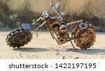 Bike Model Made Of Scrap...