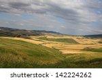 mountainous terrain and the... | Shutterstock . vector #142224262