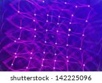 lines colorful with abstract... | Shutterstock . vector #142225096