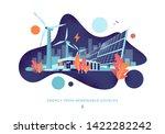 modern vector illustration of... | Shutterstock .eps vector #1422282242