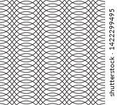 elegant interlacing linear... | Shutterstock .eps vector #1422299495