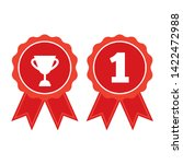 award vector icon. illustration ...   Shutterstock .eps vector #1422472988