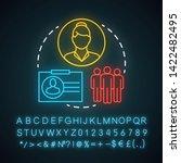 choose doctor neon light icon....   Shutterstock .eps vector #1422482495