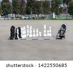 large plastic chess in the... | Shutterstock . vector #1422550685