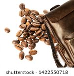 brown leather men's casual... | Shutterstock . vector #1422550718