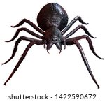Giant Spider Top View 3d...