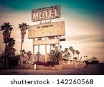 Roadside Motel Sign   Decayed...