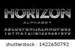 a high tech alphabet... | Shutterstock .eps vector #1422650792