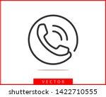 Phone Icon Vector Illustration. ...