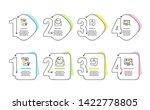 cogwheel  smile and like icons... | Shutterstock .eps vector #1422778805