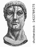Constantine The Great. Roman...