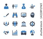business  office  finance icons ... | Shutterstock .eps vector #1422891965