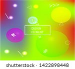 bright blend texture picture.... | Shutterstock .eps vector #1422898448