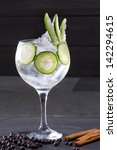 Gin Tonic Cocktail With...